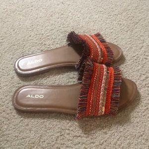 Shoes - Lk new ALDO Castlerock Fringe Sandals